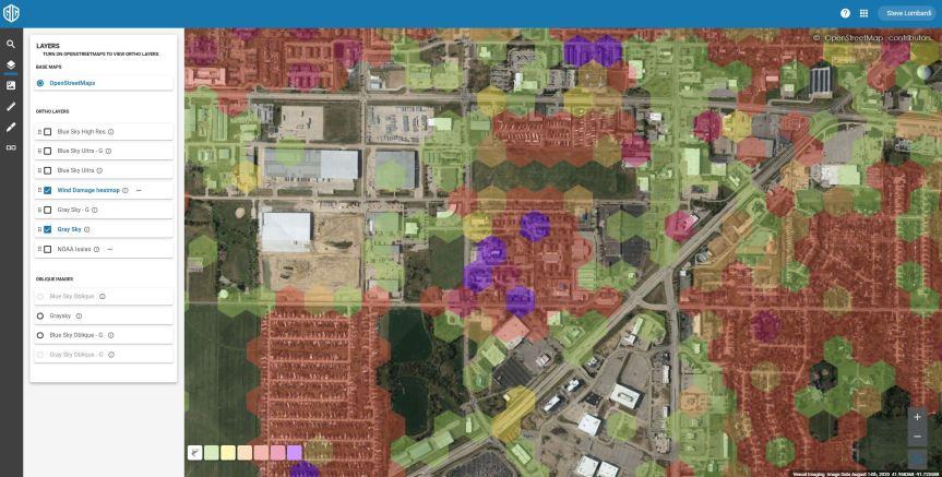 Iowa Tornado Imagery and Damage HeatMap