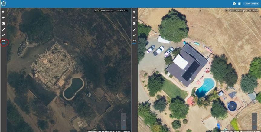 Aerial Imagery viewer quickstarttutorial