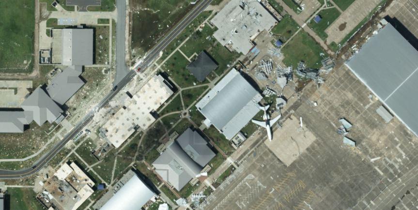 Hurricane Laura - Airport