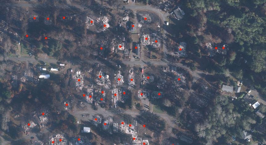 fire damage Oregon