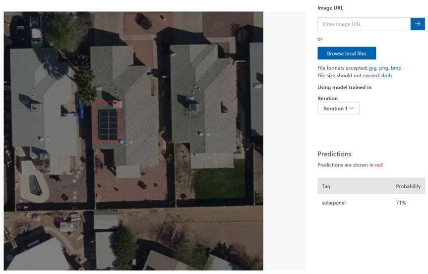 Solar panel detection tutorial